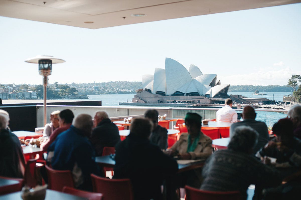 Sydney Harbour Cafe View