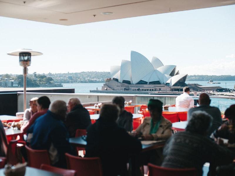 Sydney Harbour Cafe View