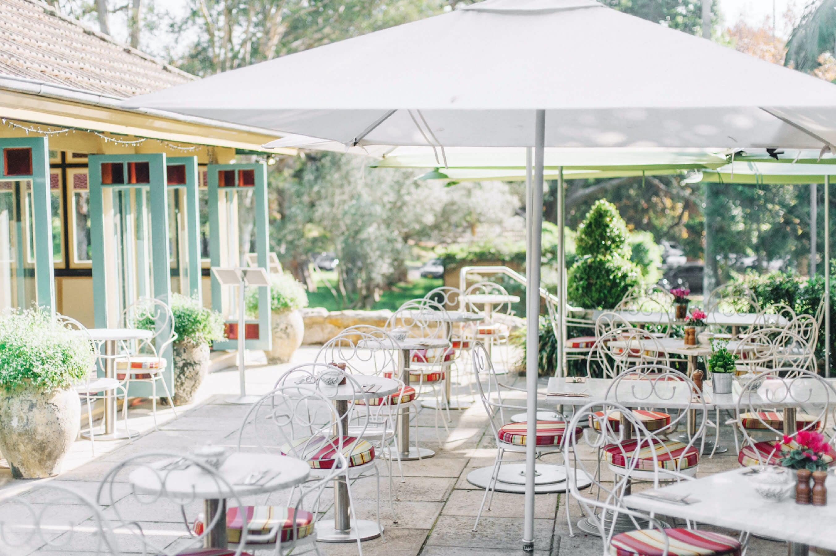 Vaucluse House Tearooms Terrace