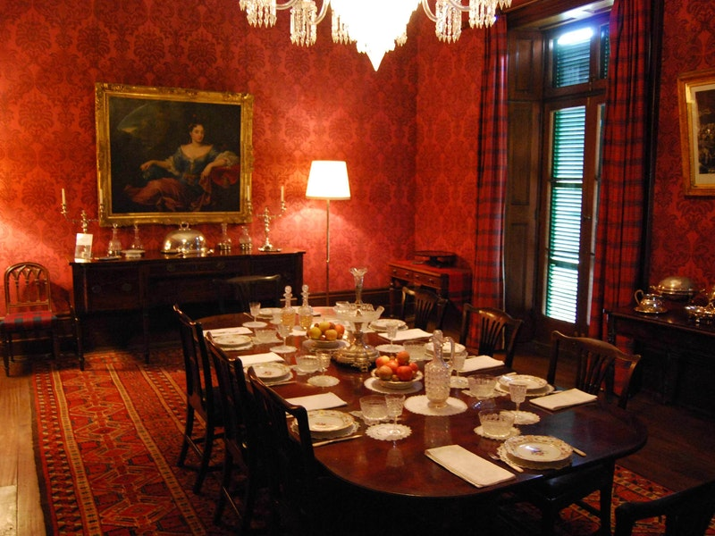 Lindesay House Dinning Room