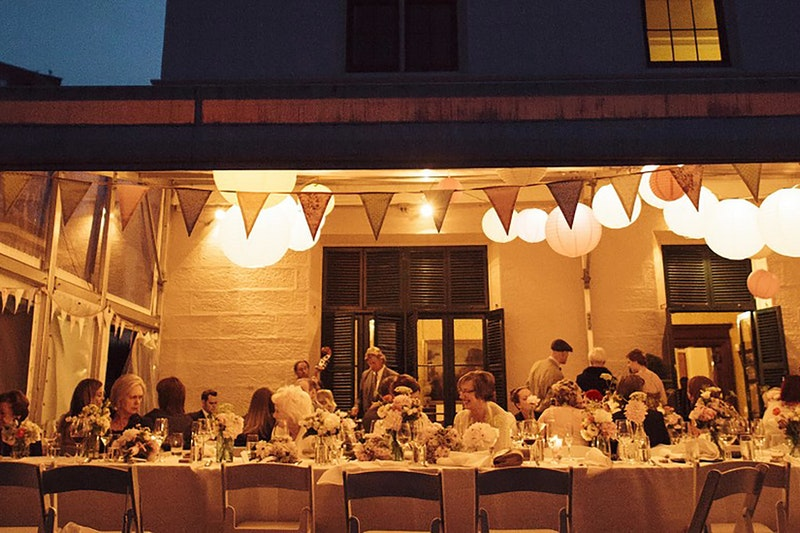 Lindesay House-wedding-banquet