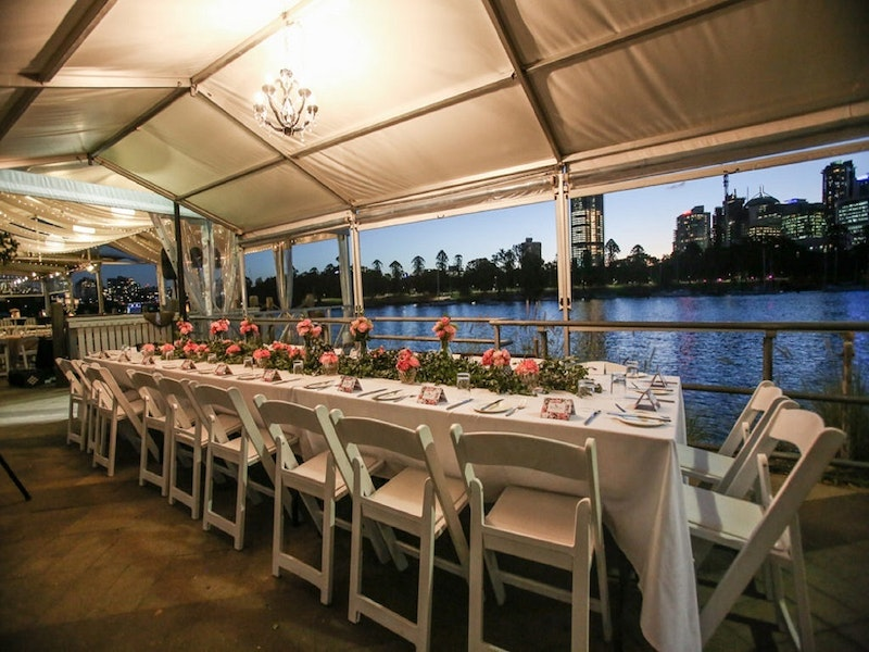 Riverside Marquee Weddings Brisbane