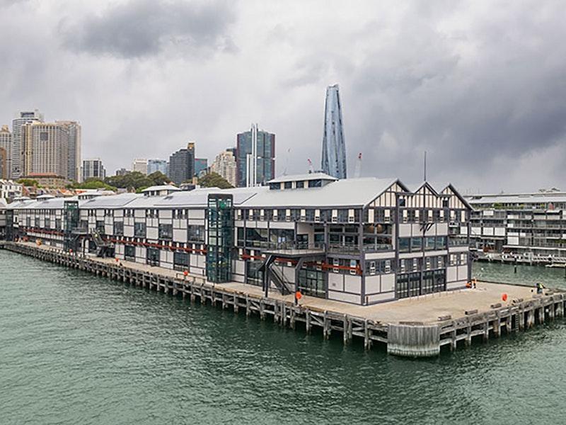 Bangarra Wharf pier length