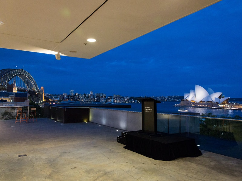 Sydney Harbour Event Venue Museum of Contemporary Art Australia