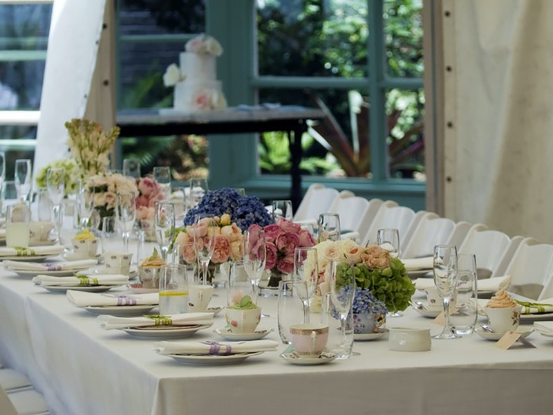 Lindesay House Marquee Weddings