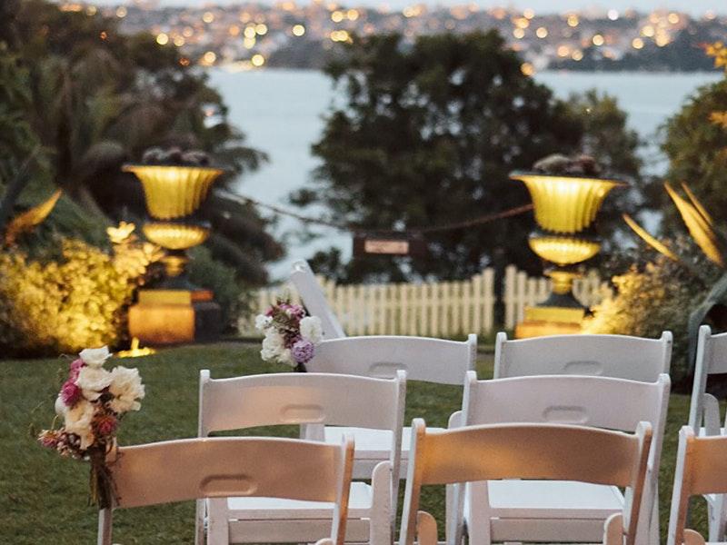 Lindesay House Garden Weddings