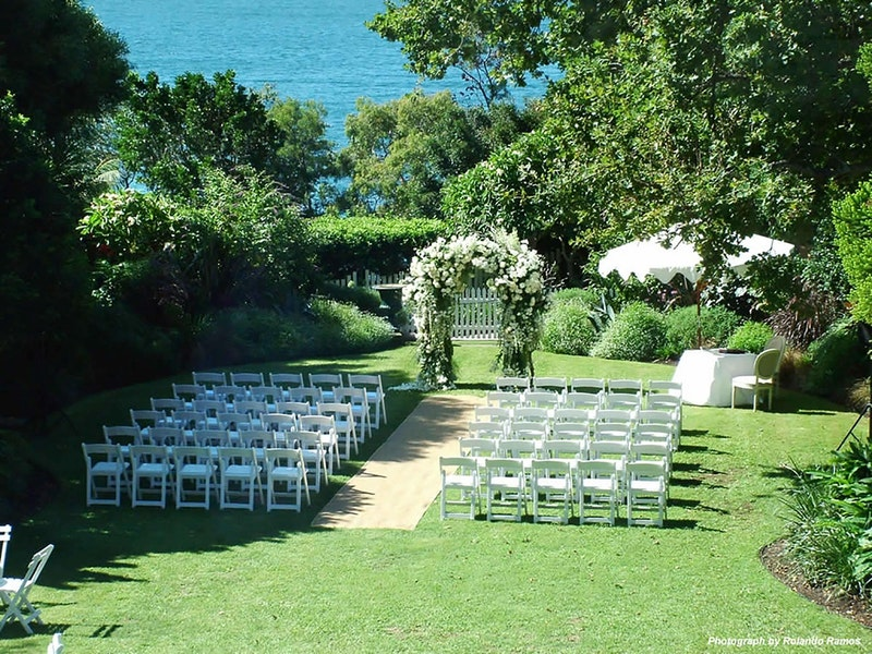 Lindesay House Garden Weddings