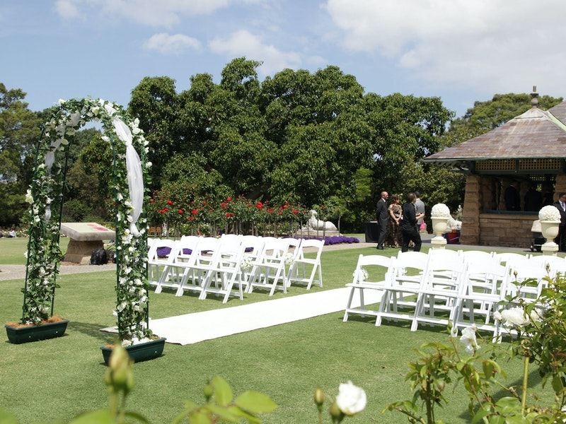 Rose gardens events
