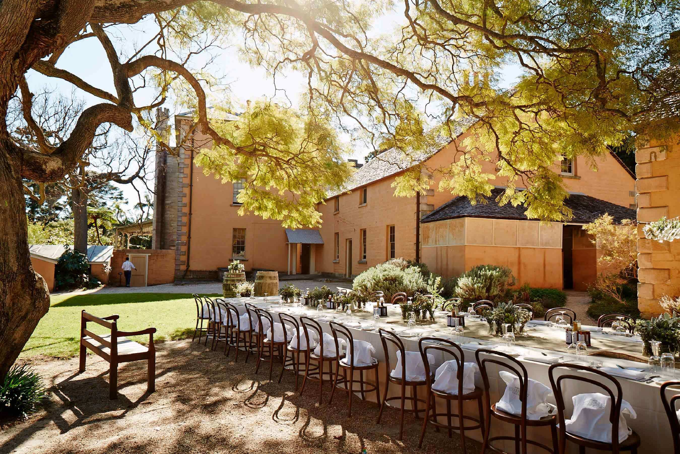 Kitchen Courtyard, Lunch Event Venue Sydney