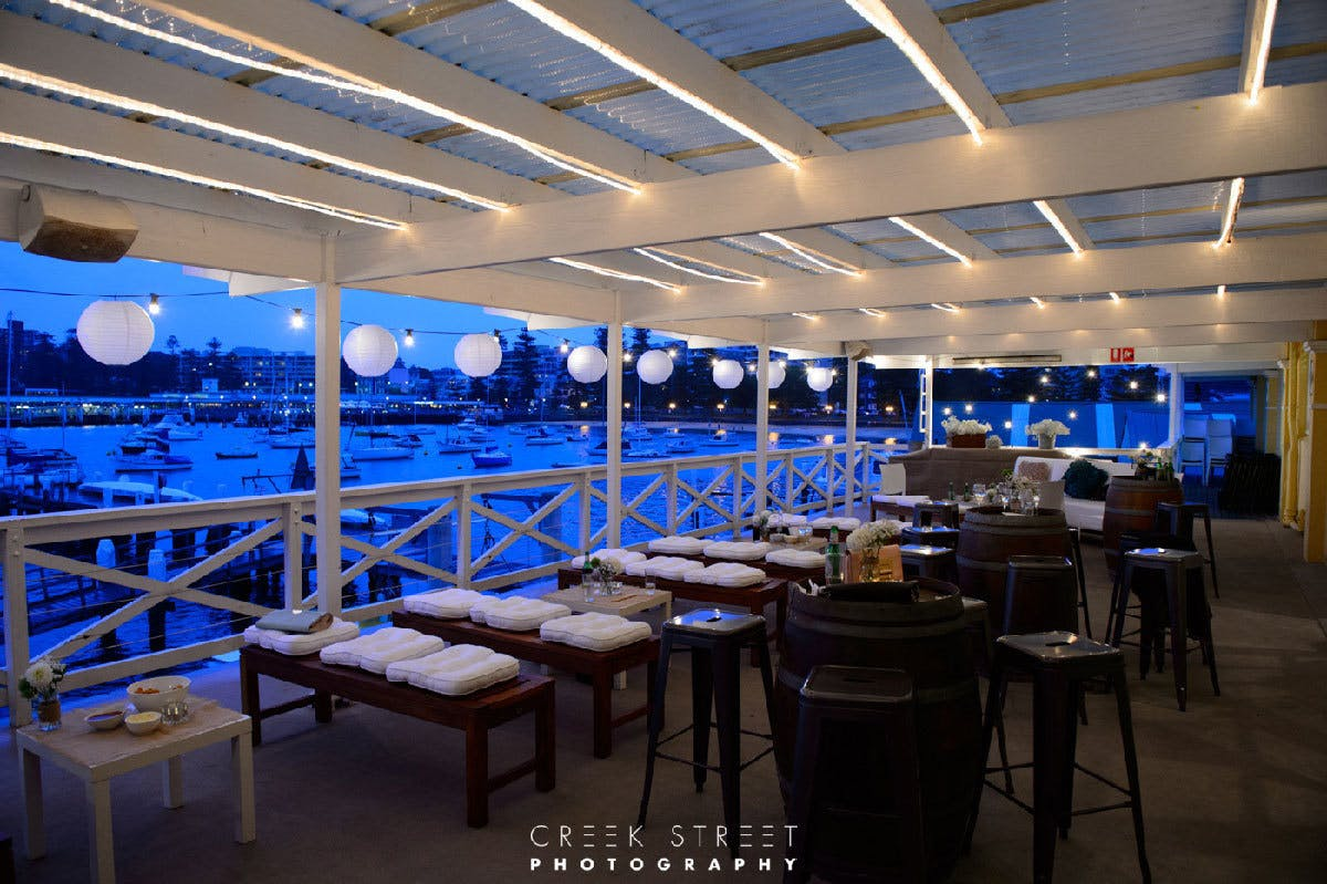 Event Venue Hire Manly Yacht Club Balcony