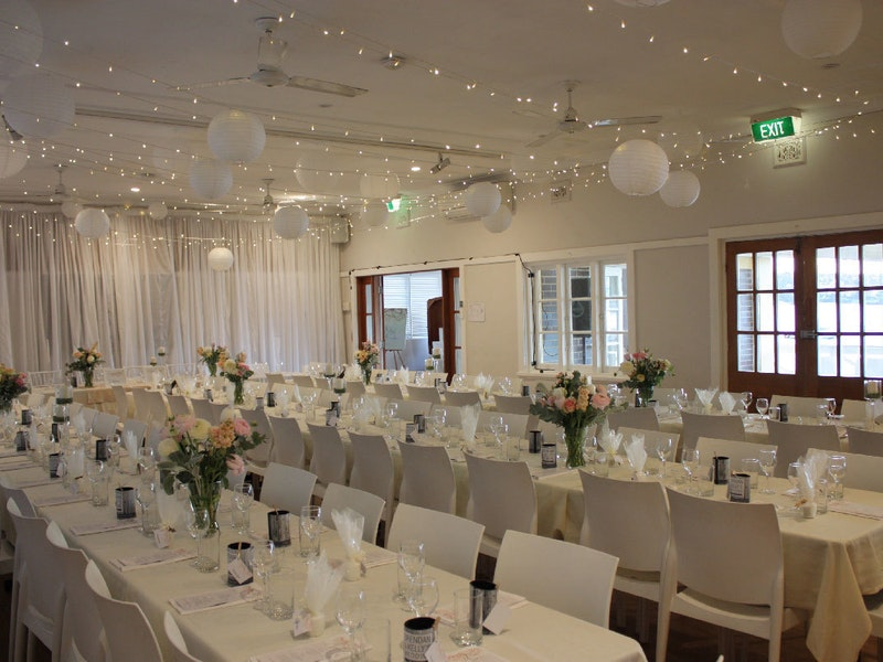 Event Venue Manly Yacht Club Hall