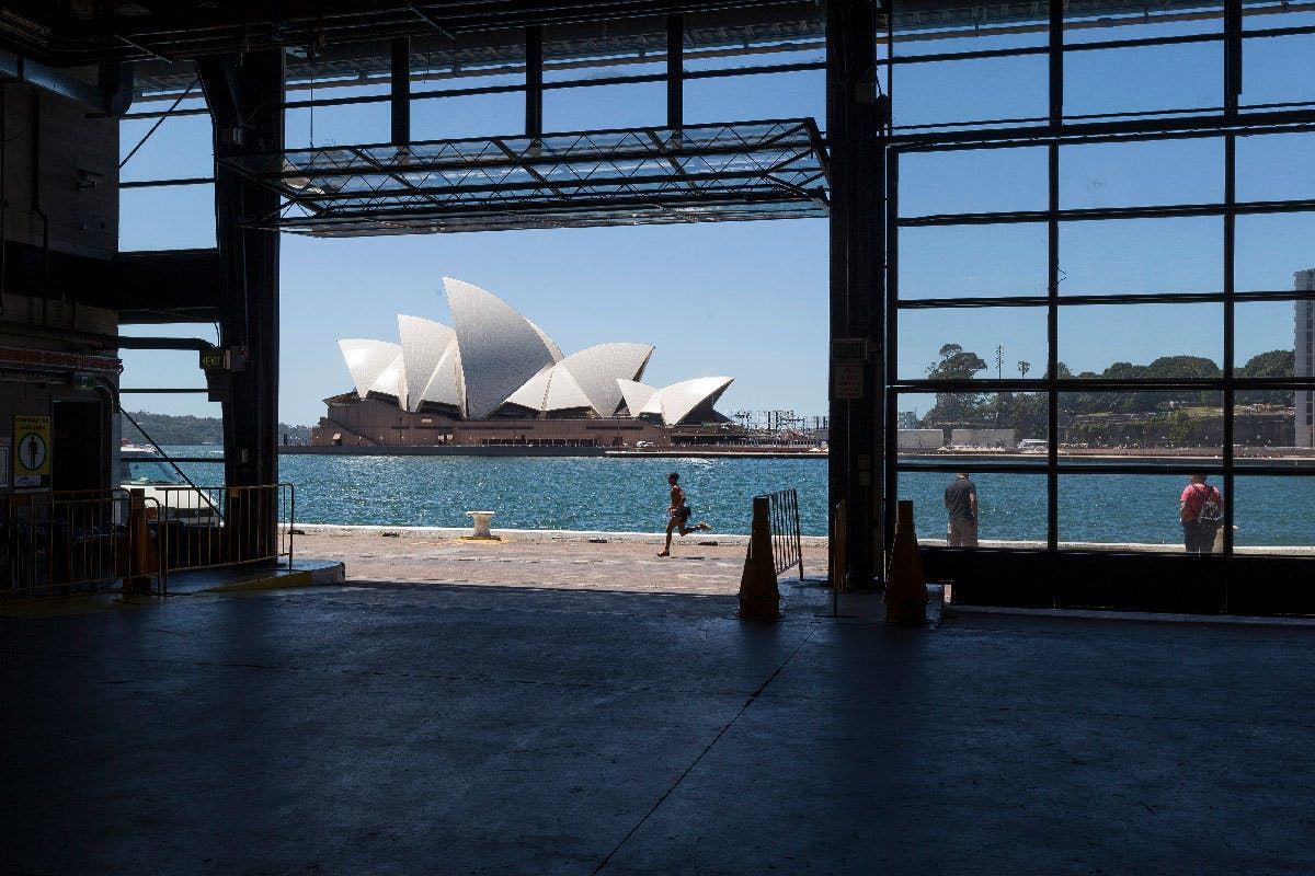 Venue Overseas Passenger Terminal Cargo Hall Opera House View