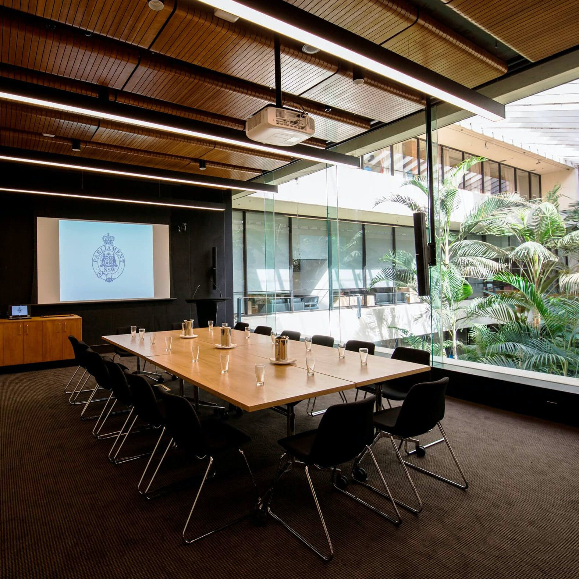 Parliament House of NSW Corporate Meeting Room