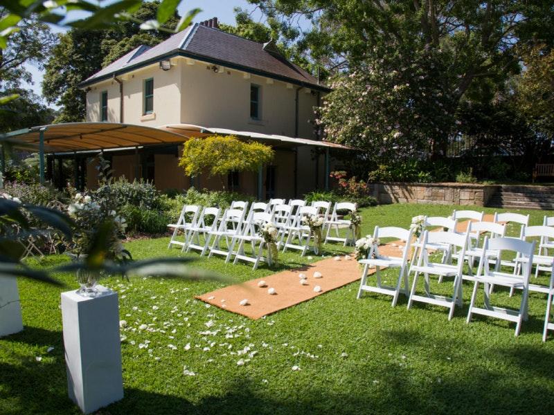 Lion Gate Lodge Royal Botanic Garden Sydney Event Venue