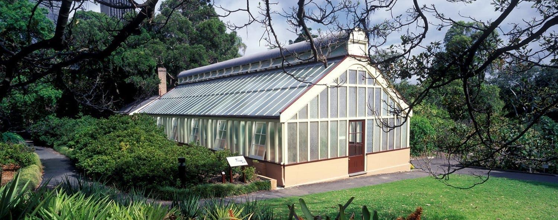 Palm House Royal Botanic Garden Venue Sydney