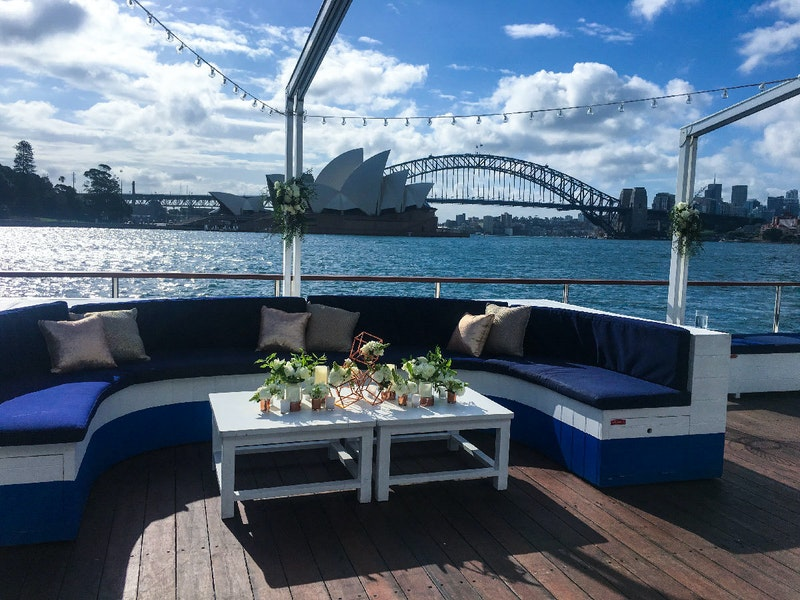 The Island Private Events Sydney Harbour