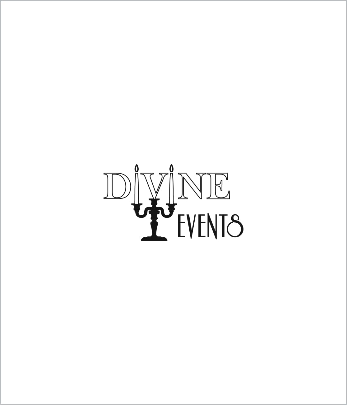 Divine Events Logo Supplier