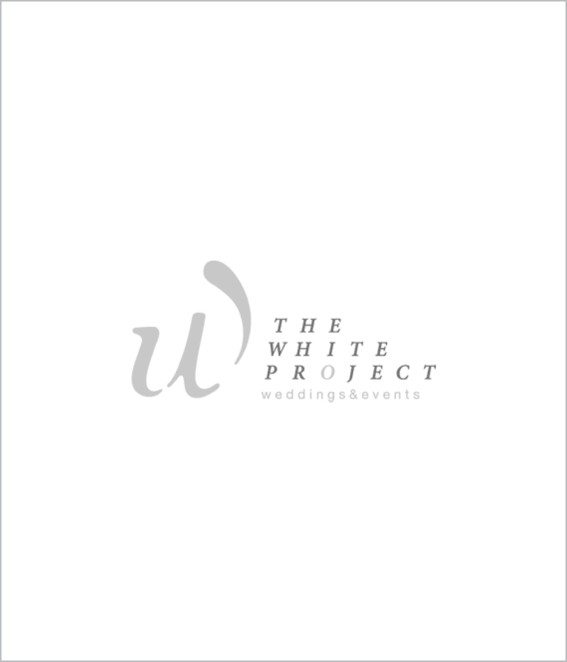 White Project Logo Supplier