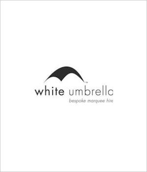 White Umbrella Logo Supplier
